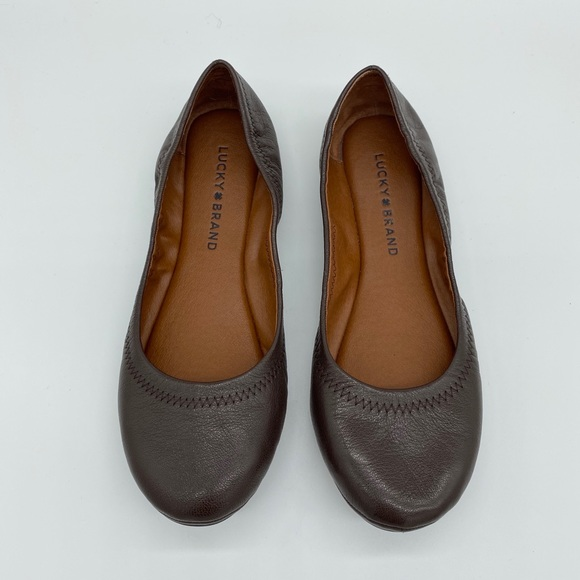Lucky Brand Shoes - Lucky Brand Emmie Leather Flats Size 8